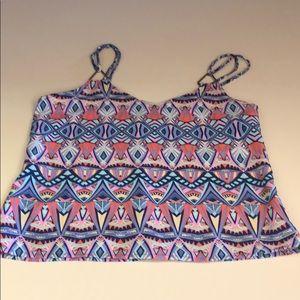 Cute multi colored camisole top